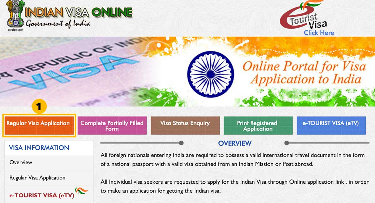 India Visa Application process through Embassy | Happymind