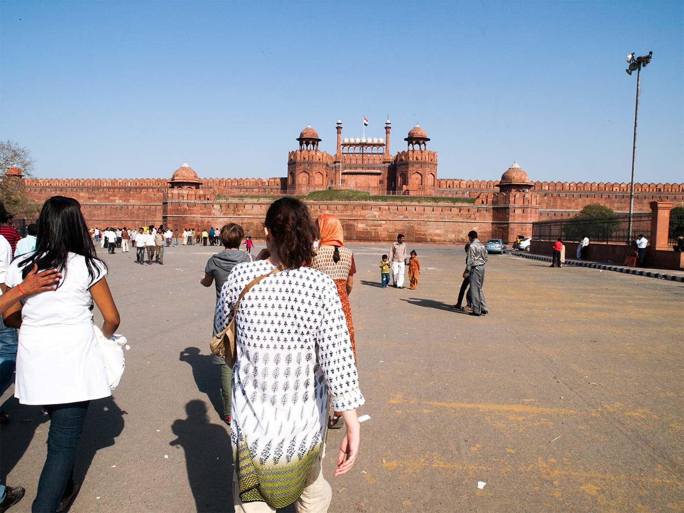 Red Fort in Delhi - Happymind Travels