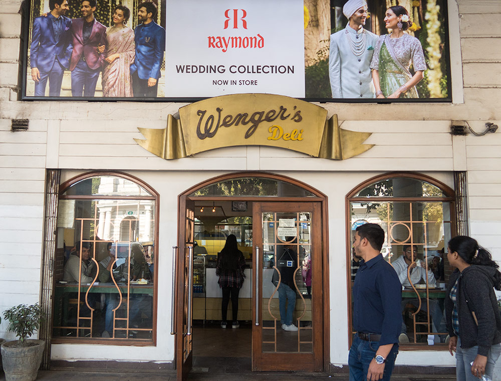Wenger's at Connaught Place | Happymind Travels