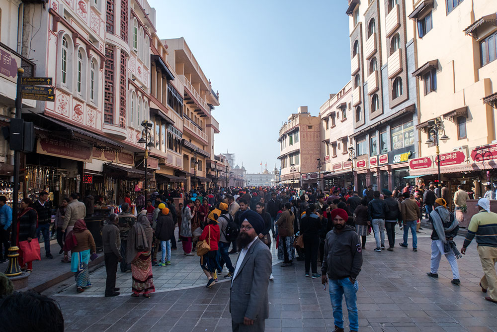 Streets of Amritsar   Happymind Travels