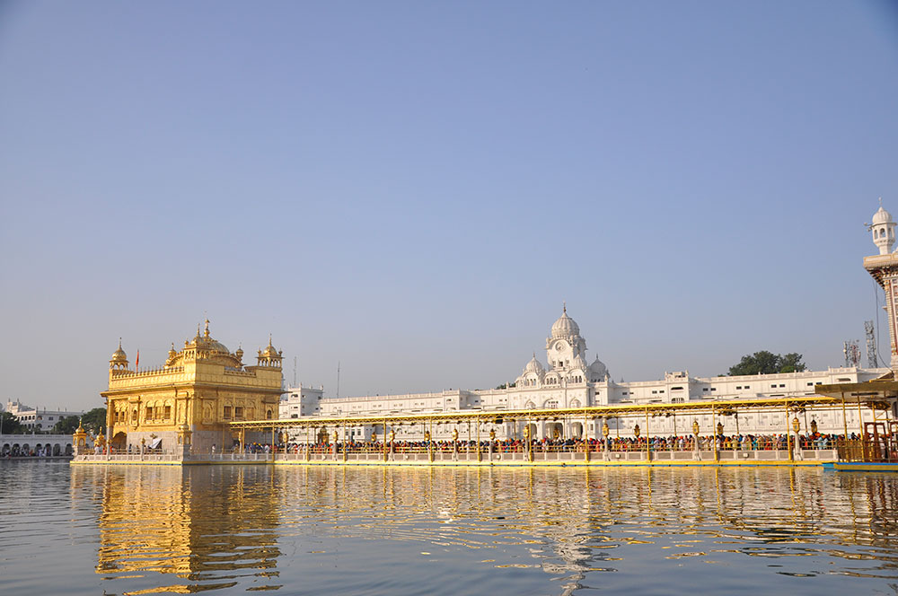 Golden Temple during day in Amritsar   Happymind Travels