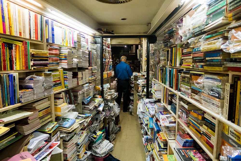 Varsha Book Stall in Panaji | Happymind Travels