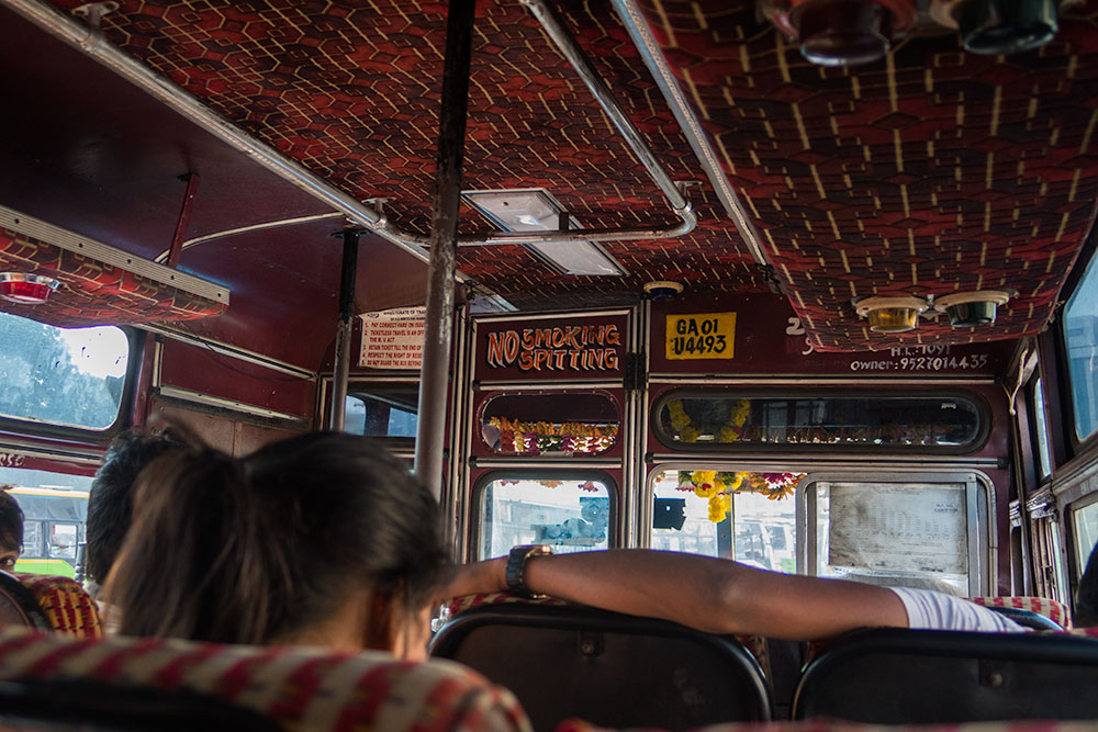 Bus to Old City in Goa | Happymind Travels