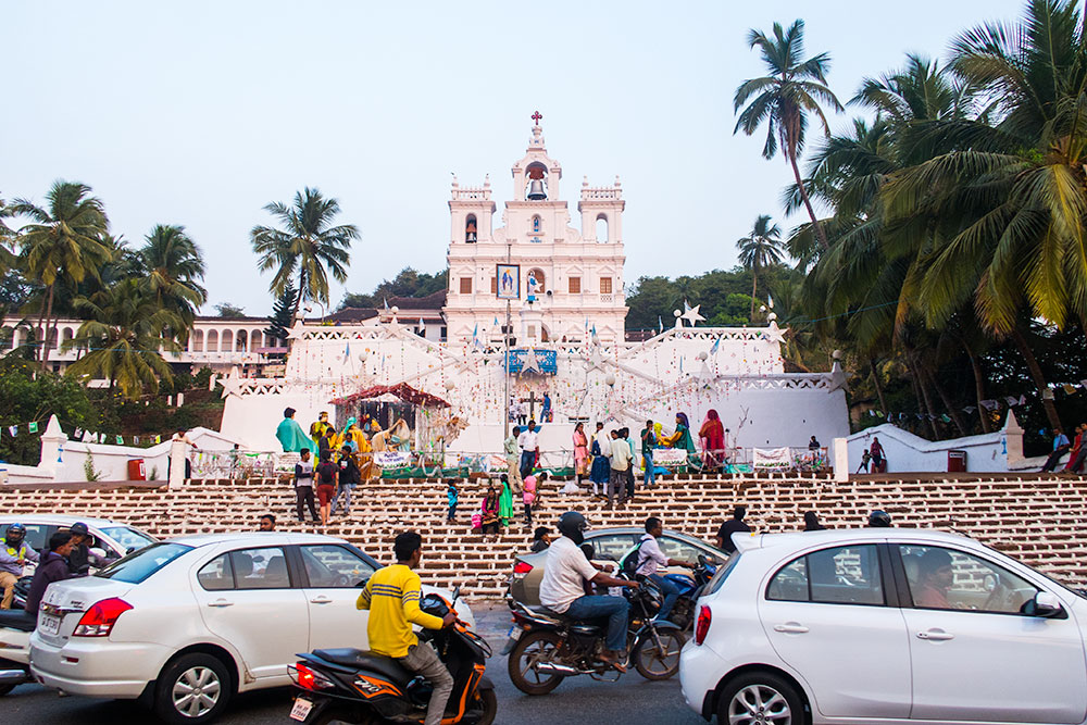 Church of Our Lady of the Immaculate Conception in Panaji - Goa | Happymind Travels