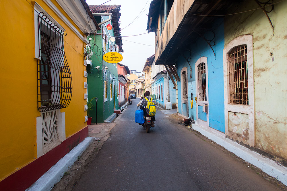 Old Portuguese quarter of Fontainhas in Panaji | Happymind Travels