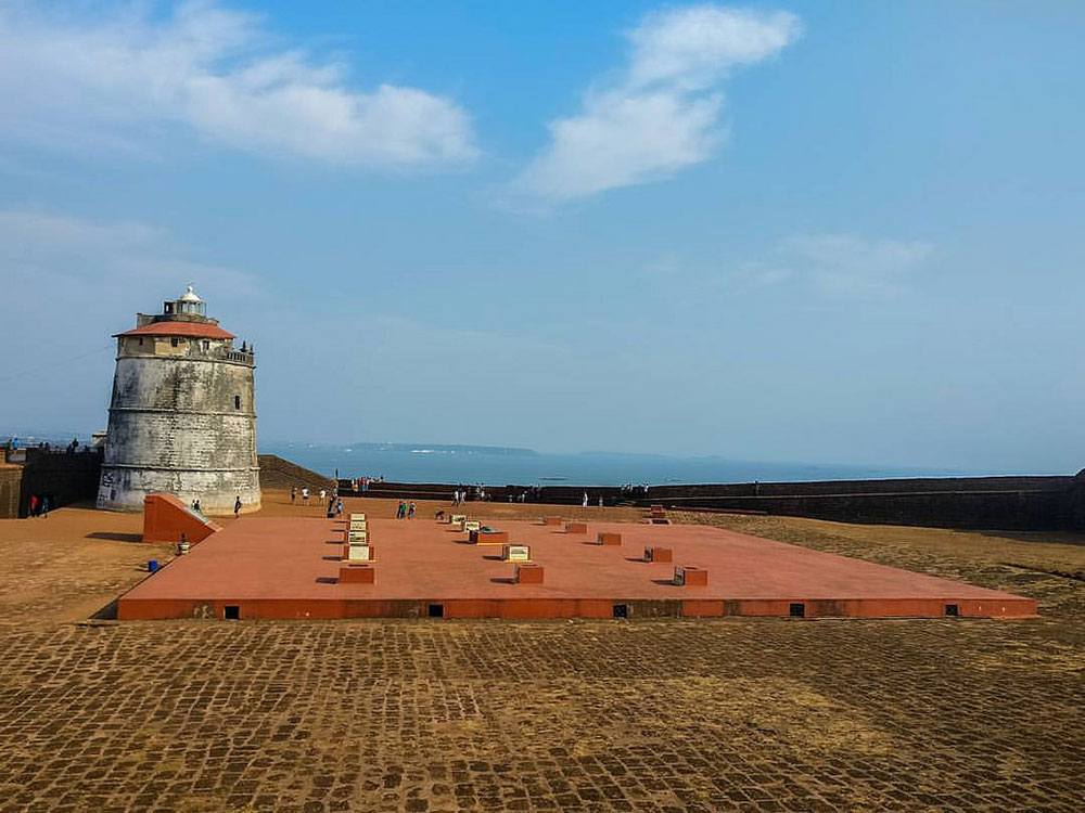 Fort Aguada - Photo by Manvendr Singh | Happymind Travels
