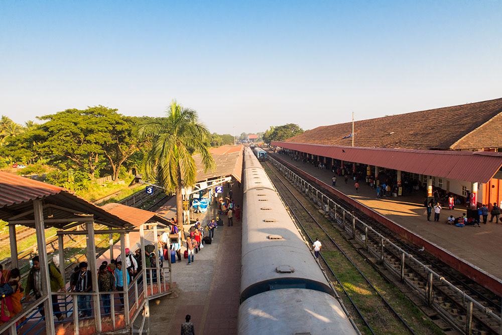 Madgaon Train Station | Happymind Travels