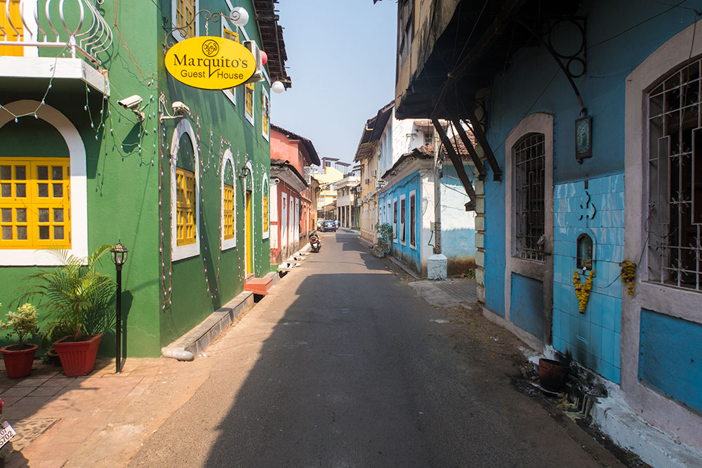 Marquito's Guesthouse in Fontainhas Quarter - Panaji | Happymind Travels
