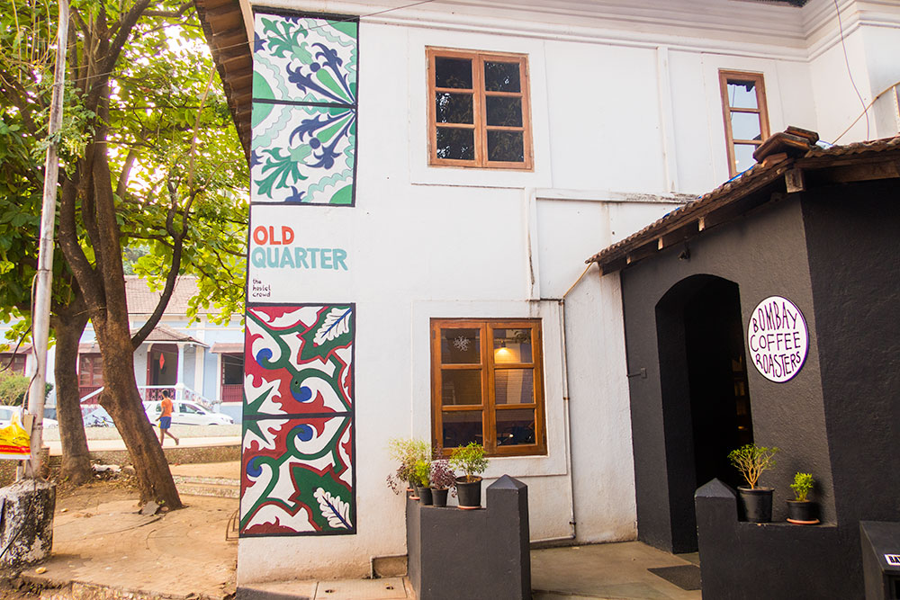 Old Quarter Guesthouse in Fontainhas Quarter - Panaji | Happymind Travels