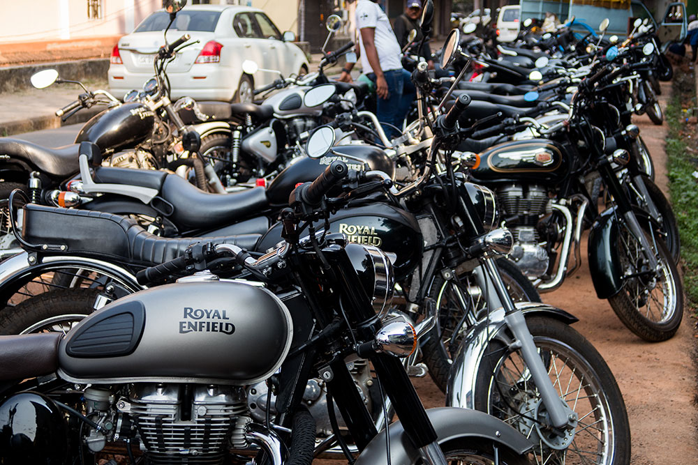 Royal Enfield Motorbikes selling in Panaji | Happymind Travels