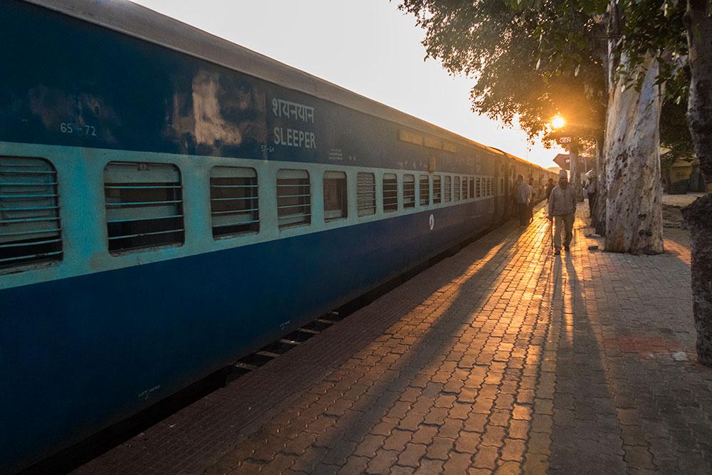 Train in Hosepet near Hampi | Happymind Travels