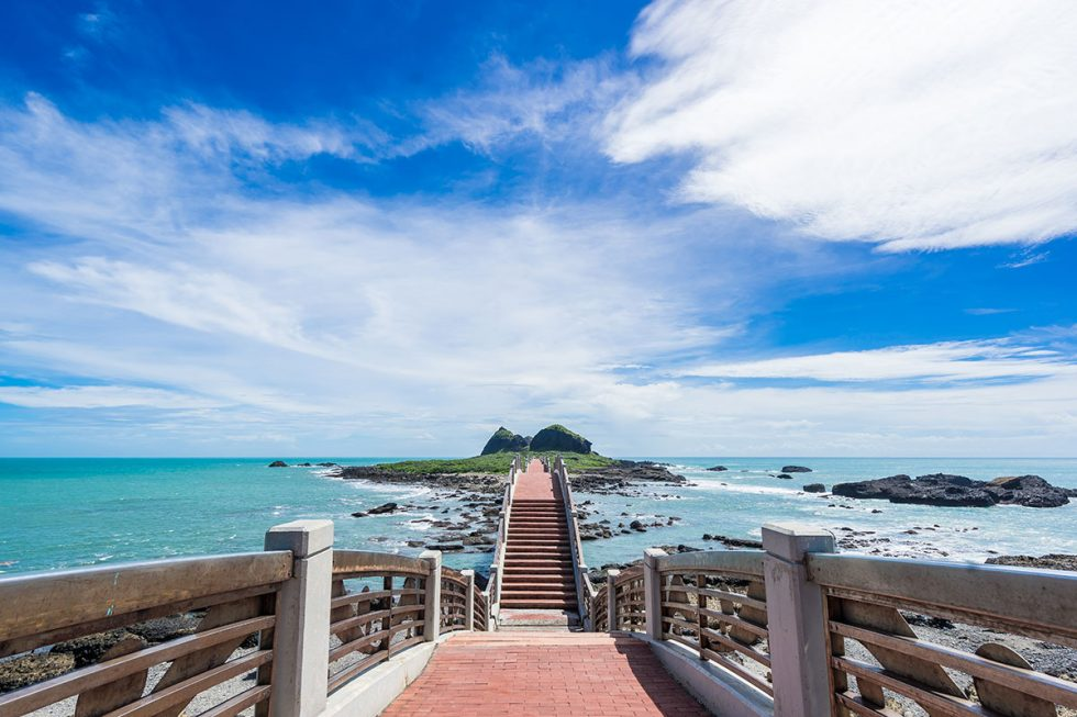Sansiantai Bridge in Sansiantai - Taitung | Happymind Travels