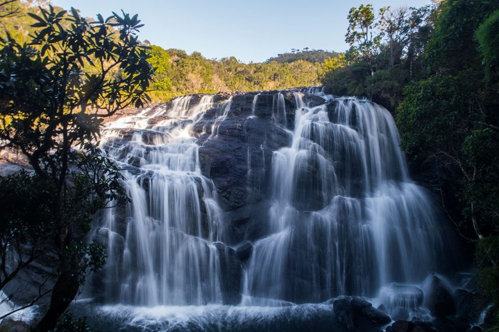 Bakers Fall in Horton Plains | Happymind Travels
