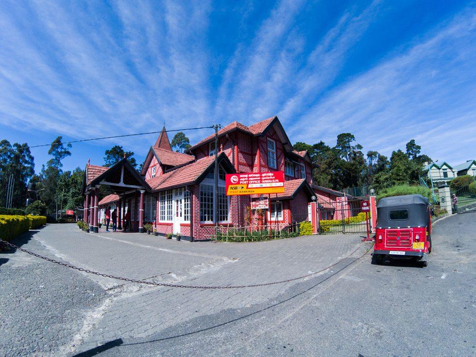 Post Office Building in Nuwara Eliya - Sri Lanka | Happymind Travels