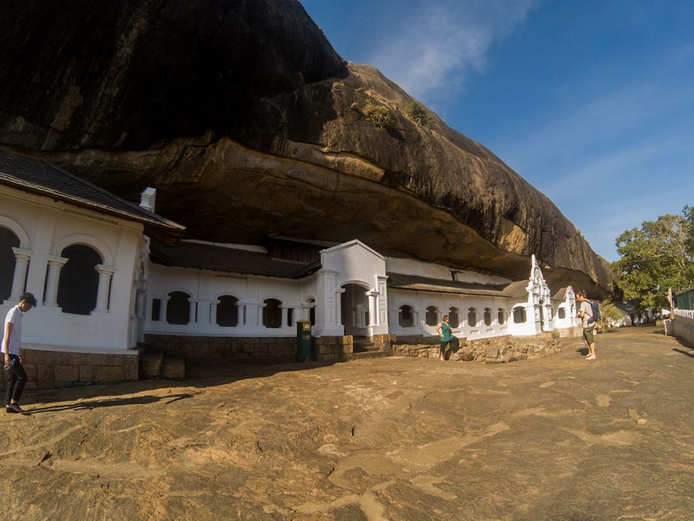 Cavernas em Dambulla - Sri Lanka | Happymind Travels
