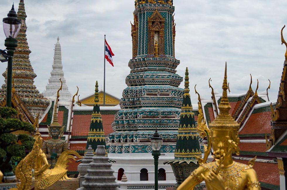 Thailand's Flag on National Flag Day at Bangkok Palace | Happymind Travels