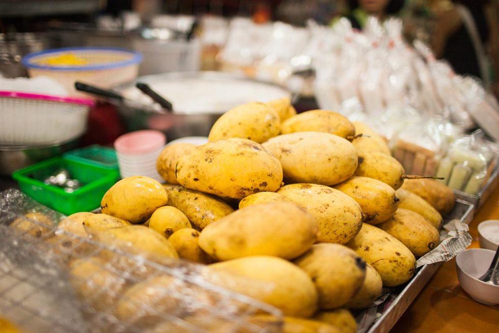Mango Fair in Chiang Mai, Thailand | Happymind Travels