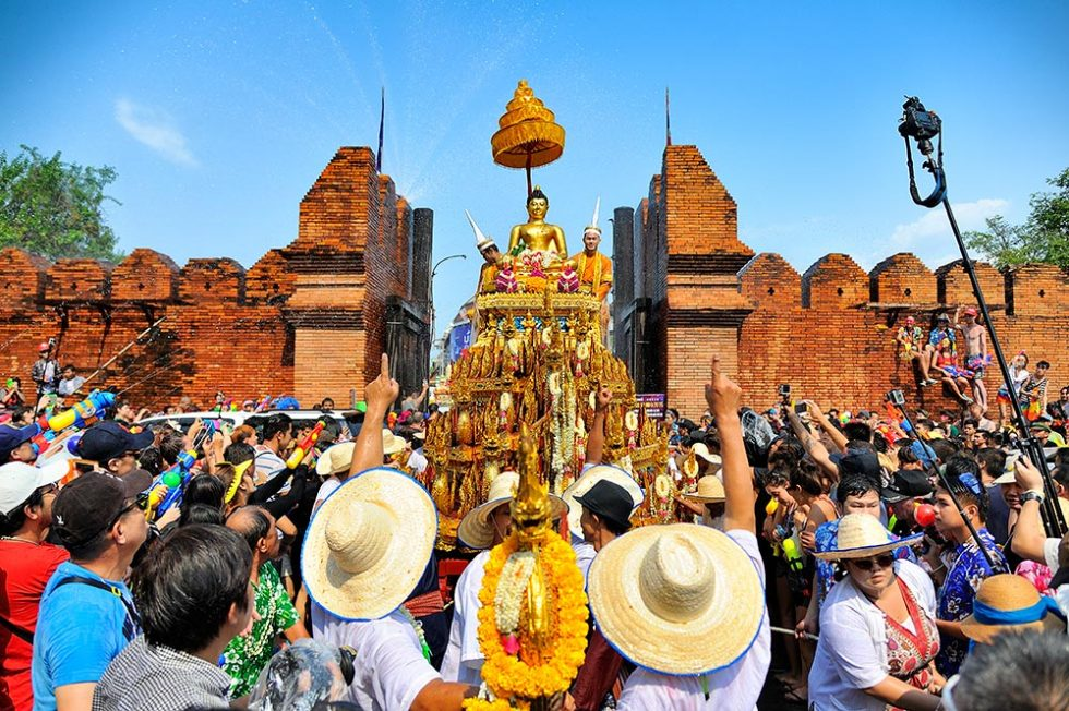 Songkran Festival in Chiang Mai, Thailand | Happymind Travels