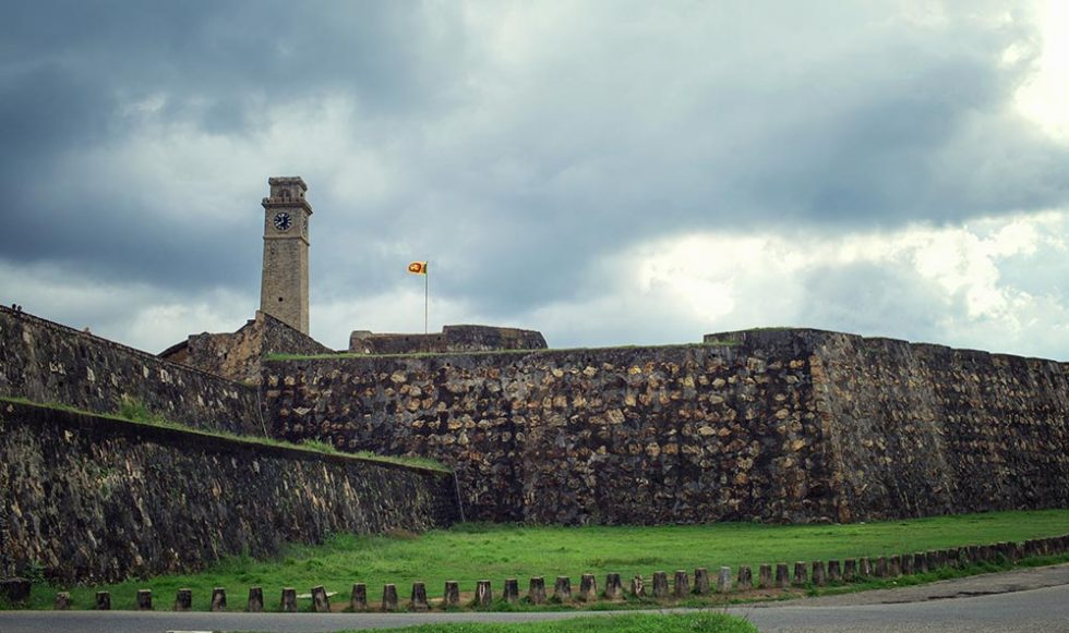 Galle Fort, Sri Lanka, as a storm approaches | Happymind Travels