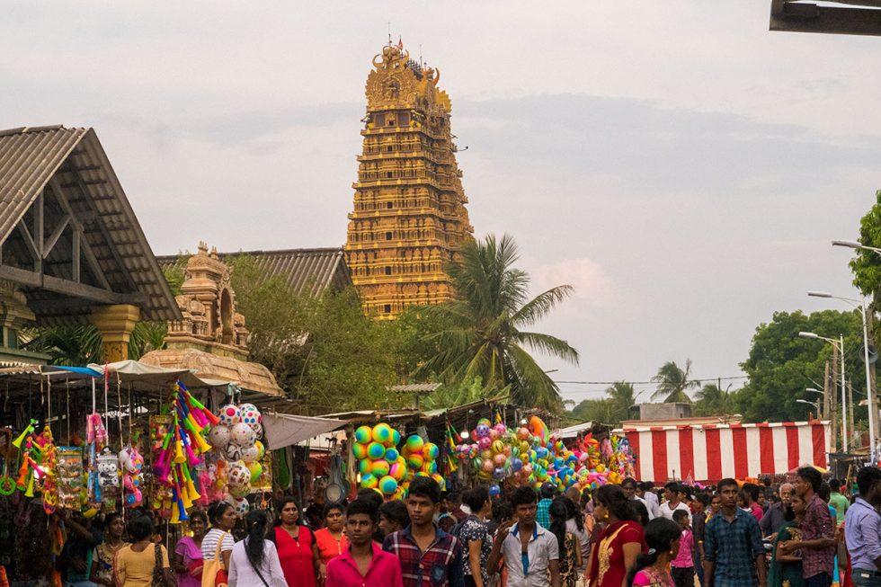 Hindu temple Nallur Kandaswamy in Jaffna - Sri Lanka | Happymind Travels