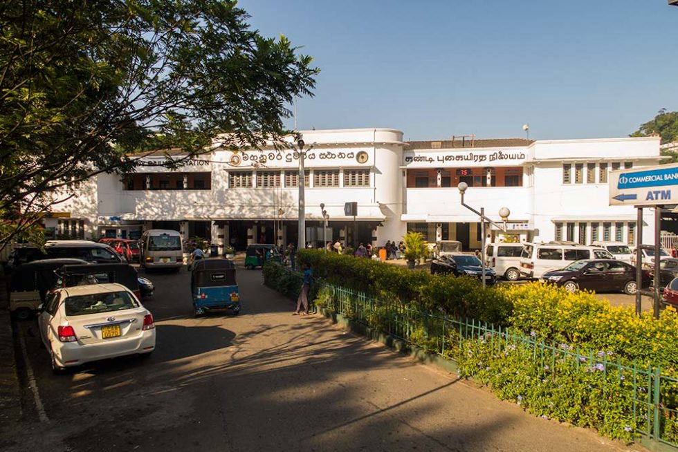 Railway Station in Kandy - Sri Lanka - Happymind Travels