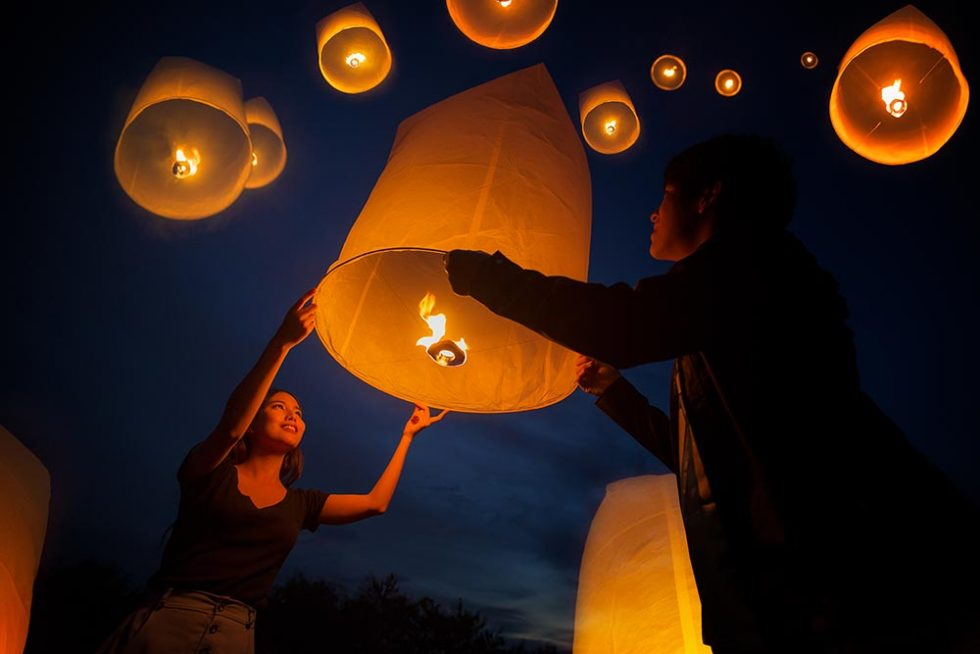 Lantern Festival in Chiang Mai, Thailand | Happymind Travels