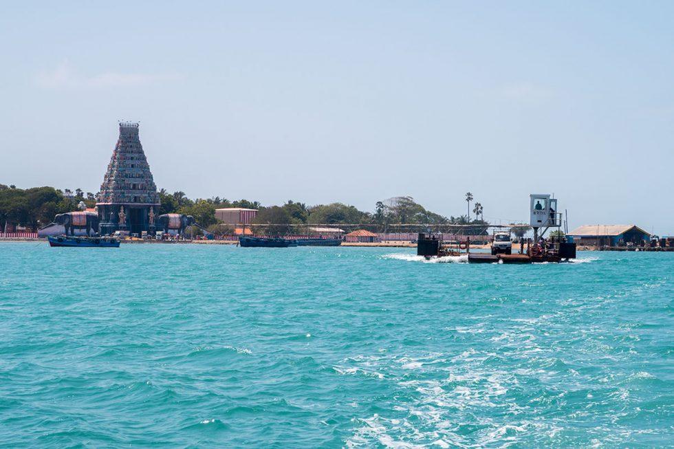Nainativu Island with the Nainativu Temple Nagapooshani Amman in the background | Happymind Travels