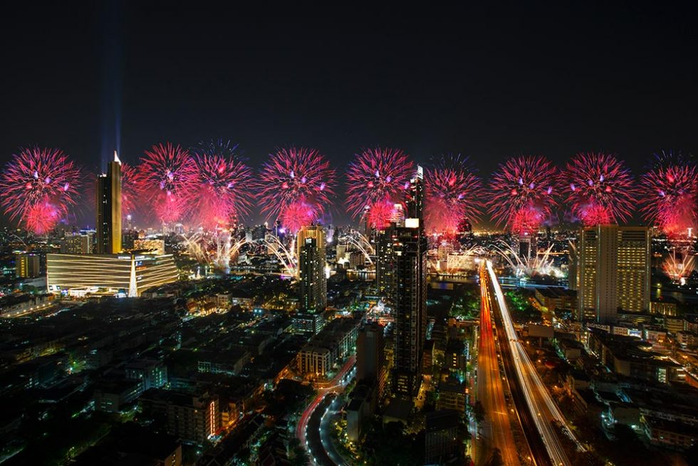 New Year's Eve in Bangkok, Thailand | Happymind Travels