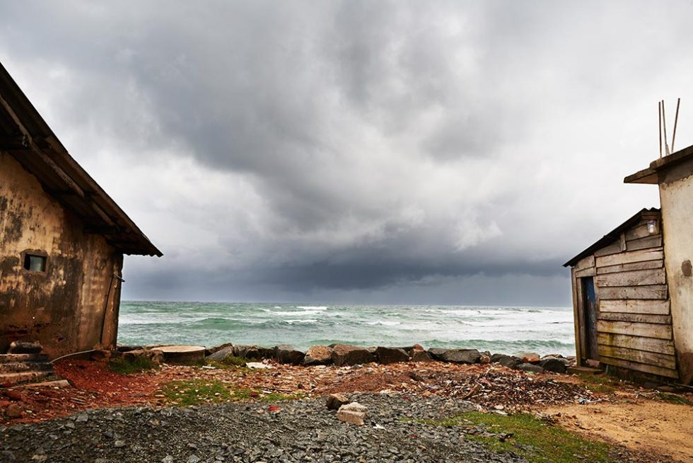 Praia no Sri Lanka logo após as monções | Happymind Travels