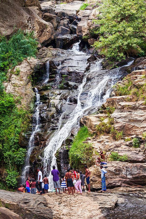 Ravana Falls near Ella - Sri Lanka | Happymind Travels