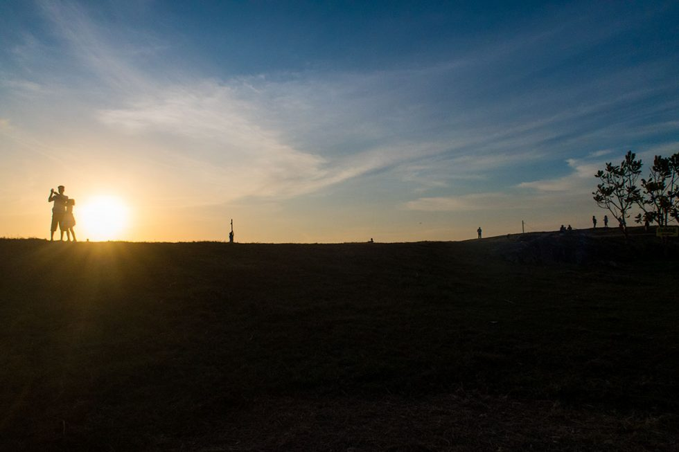 Sunset in Galle Fort - Sri Lanka | Happymind Travels