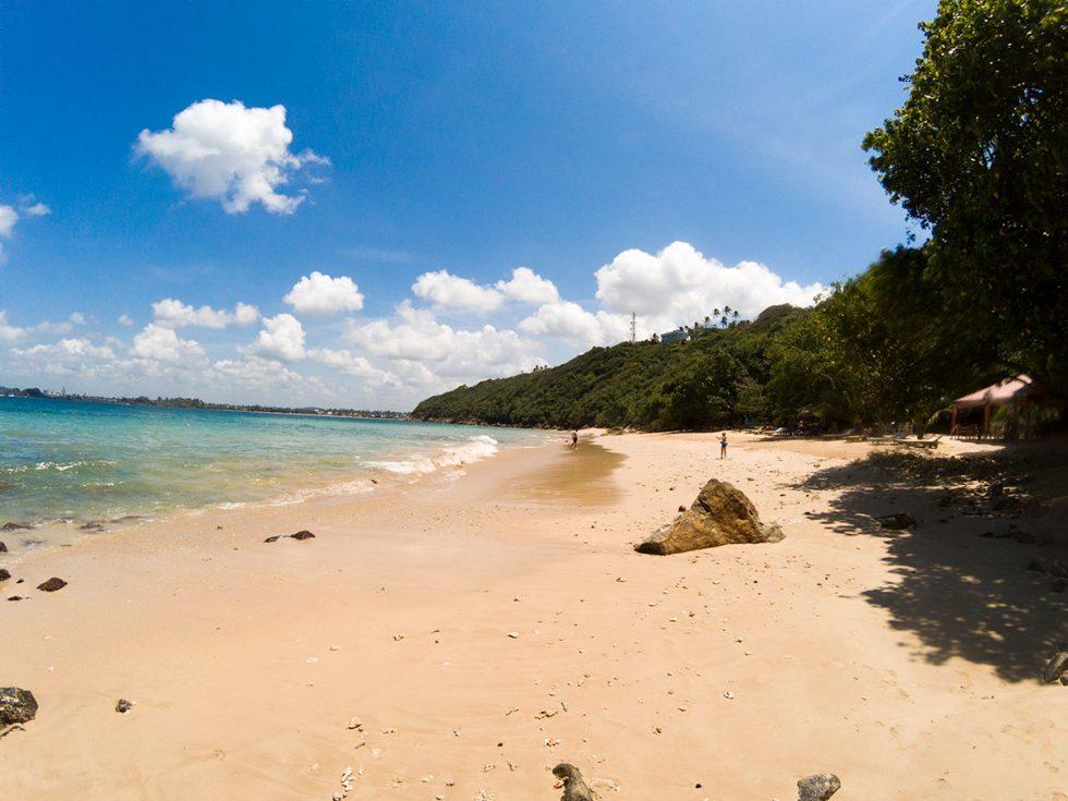 Jungle Beach in Unawatuna | Happymind Travels
