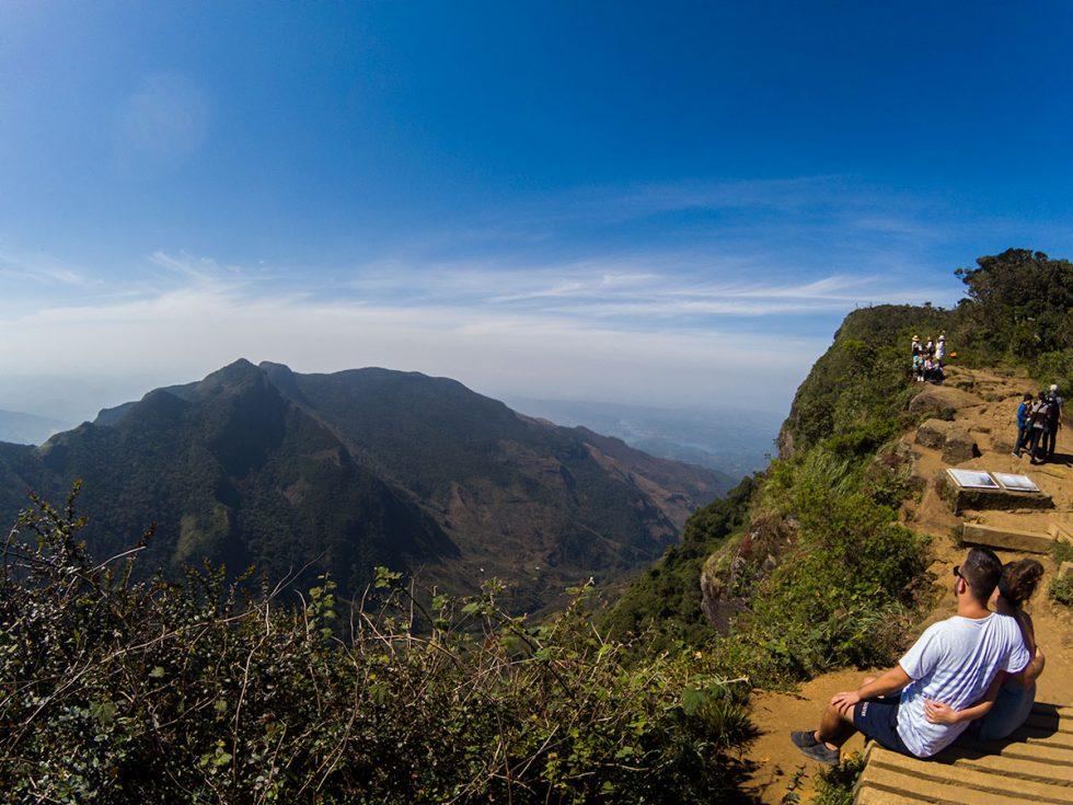Worlds End in Hortons Plains - Sri Lanka | Happymind Travels