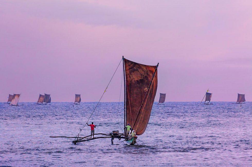 Catamaran, o barco de pesca tradicional em Negombo   Happymind Travels