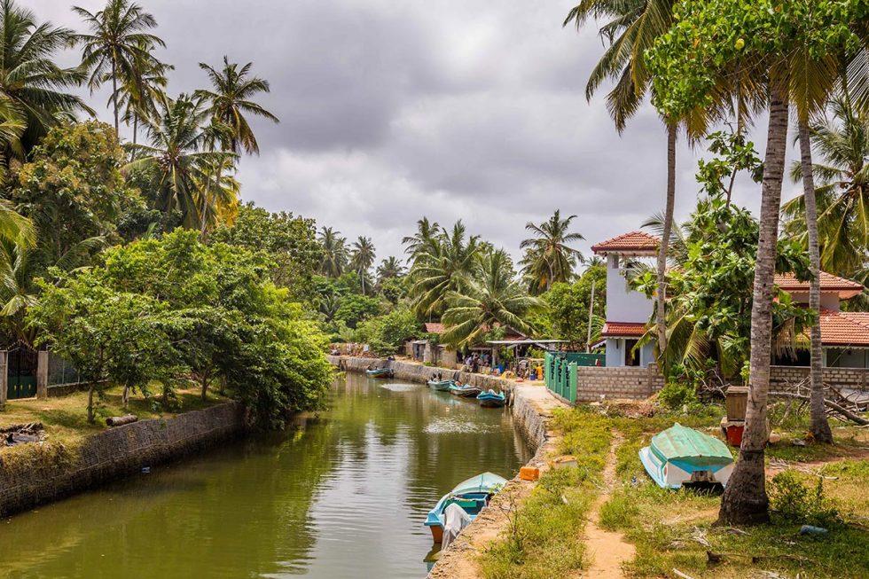 O belo Canal Holandês em Negombo, Sri Lanka   Happymind Travels