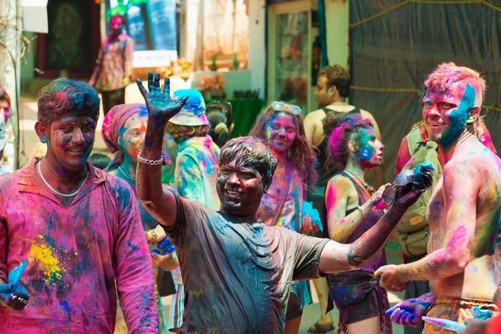 Celebrations during the Holi Festival in India | Happymind Travels