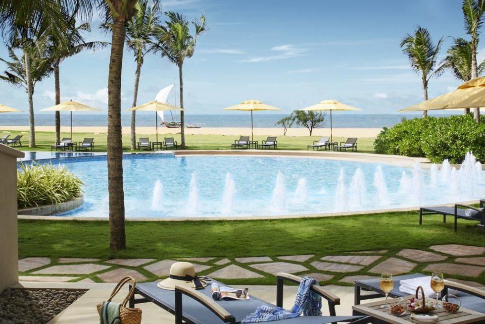 Pool View from Hotel Heritance in Negombo, Sri Lanka   Happymind Travels