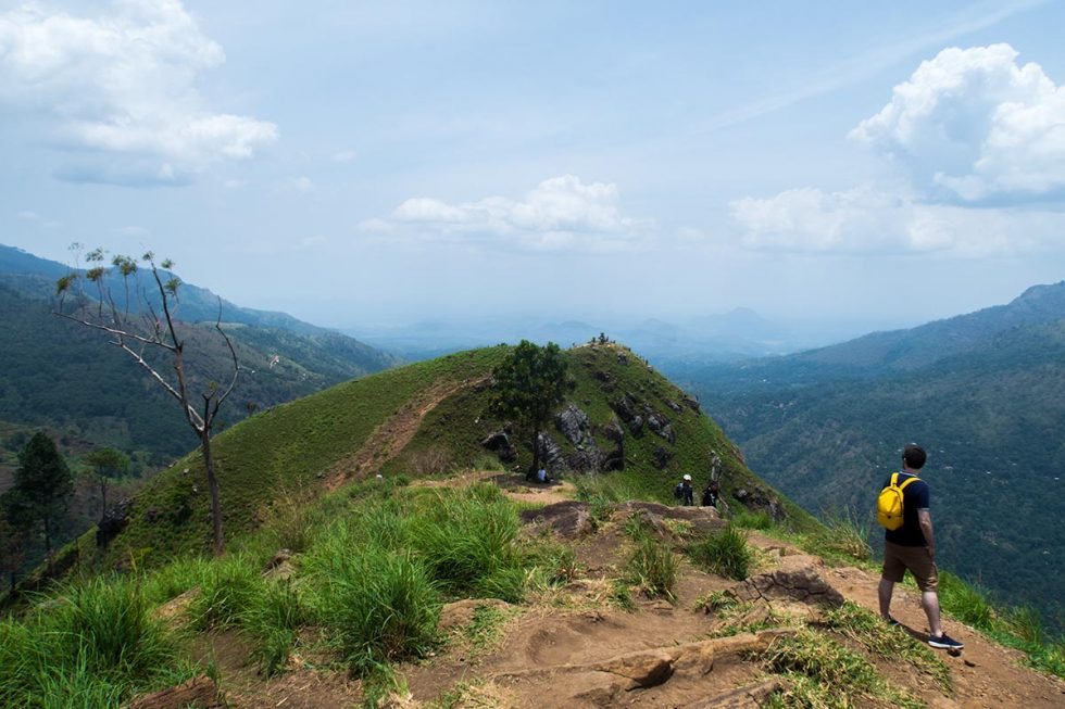 Mount of Little Adams Peak in Ella, Sri Lanka | Happymind Travels