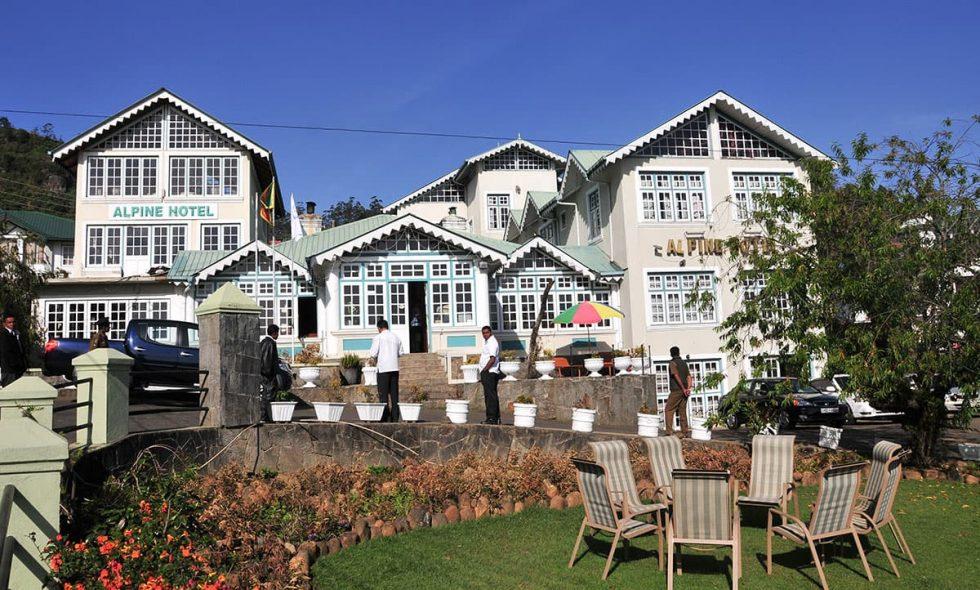 Alpine Hotel in Nuwara Eliya, Sri- Lanka | Happymind Travels