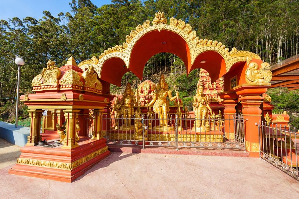 Amman Temple em Nuwara Eliya, Sri- Lanka | Happymind Travels