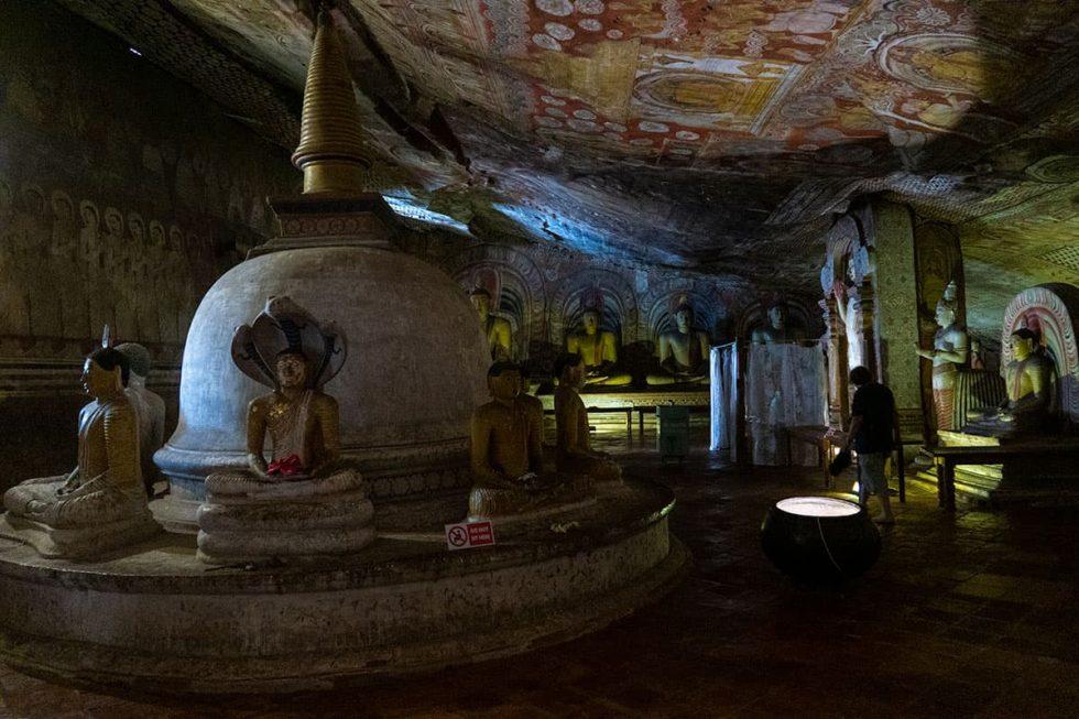 Dambulla Cave Temple - Cave Devana Alut Viharaya, Sri Lanka | Happymind Travels