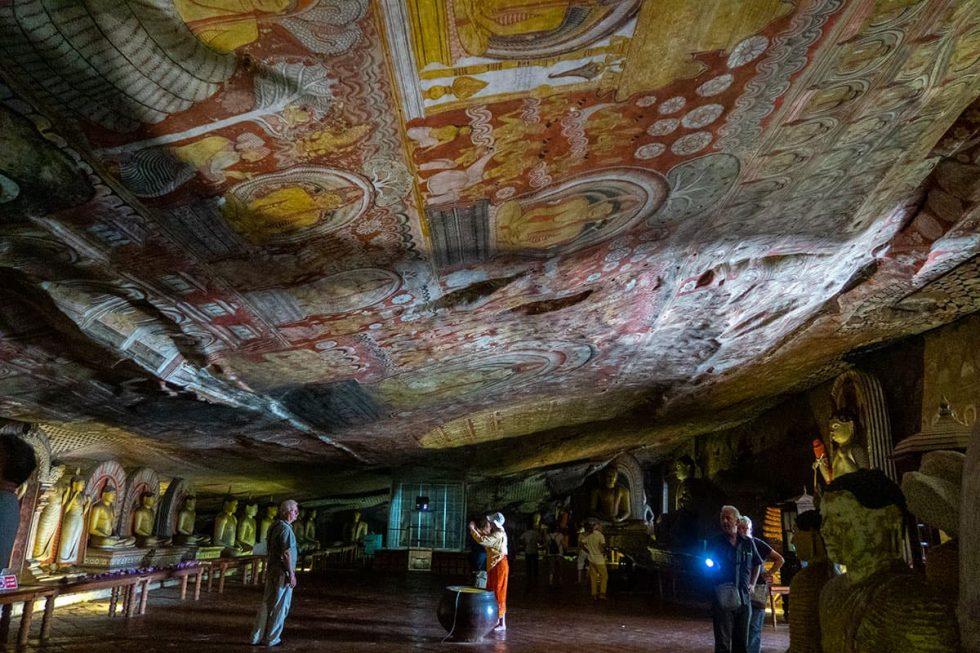Dambulla Cave Temple - Maha Alut Viharaya Cave, Sri Lanka | Happymind Travels