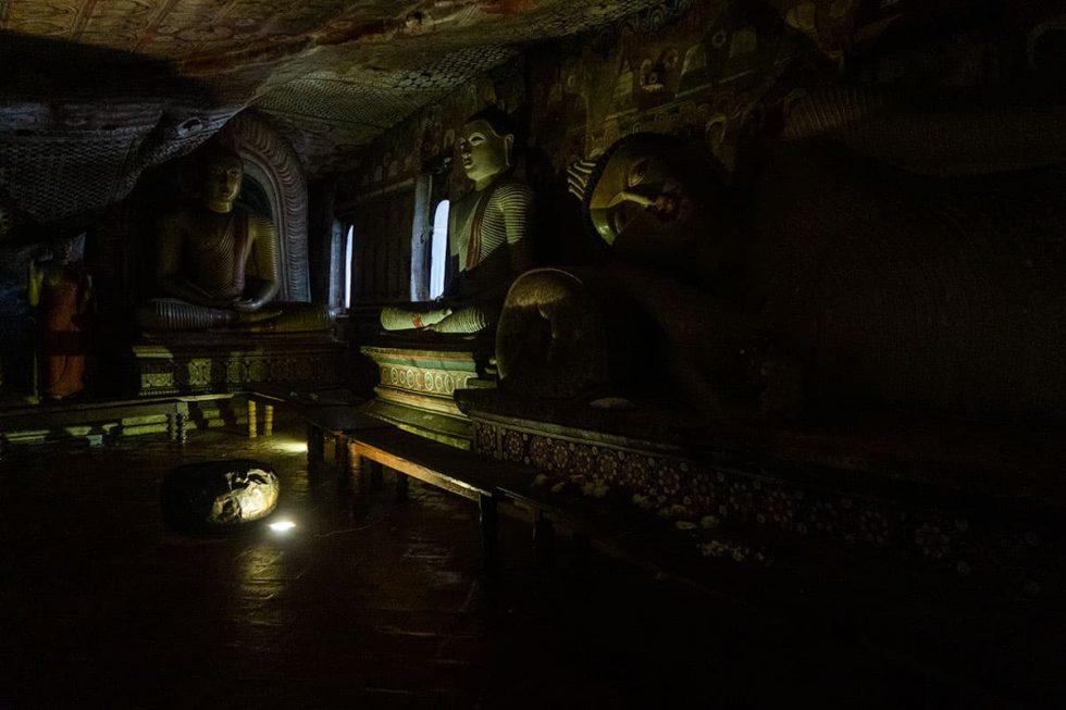 Dambulla Cave Temple - Pachima Viharaya Cave, Sri Lanka | Happymind Travels