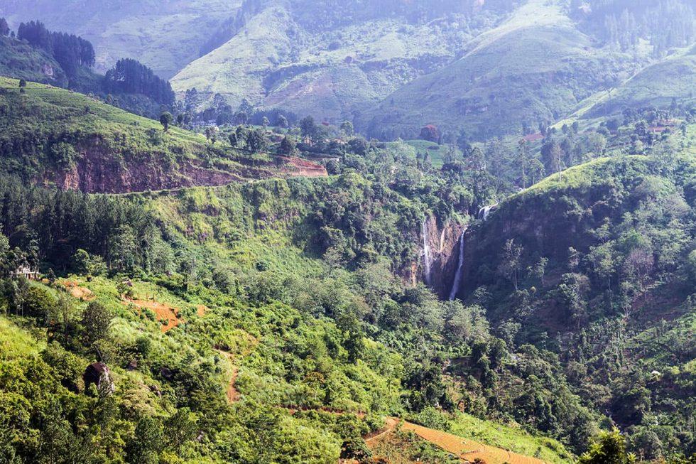 Devon Waterfall in Nuwara Eliya, Sri Lanka | Happymind Travels