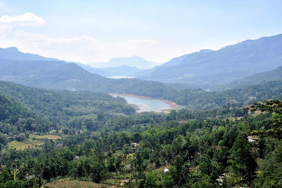 View from Pidurutalagala hill in Nuwara Eliya, Sri Lanka | Happymind Travels