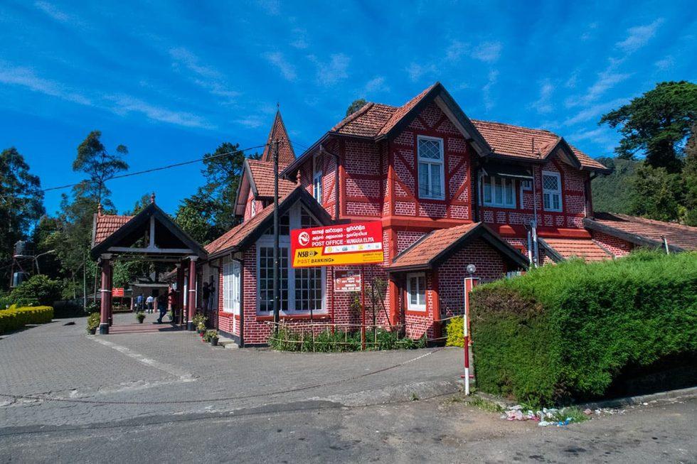 Post Office in Nuwara Eliya, Sri Lanka | Happymind Travels