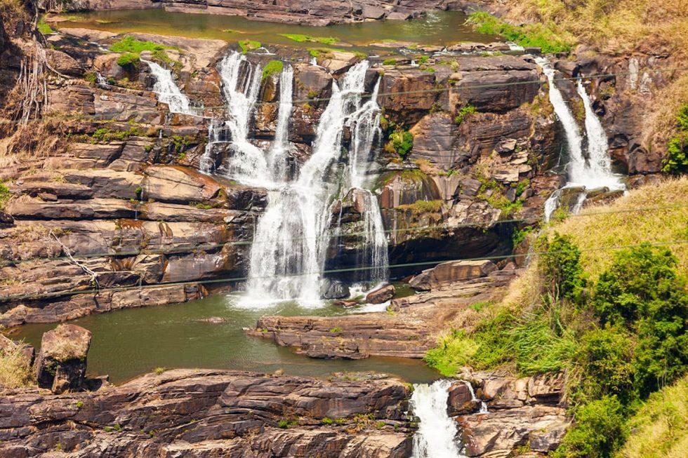 St Clair Waterfall in Nuwara Eliya, Sri Lanka | Happymind Travels