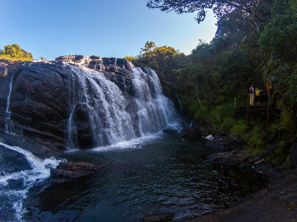 Baker's Fall in Horton Plains | Happymind Travels